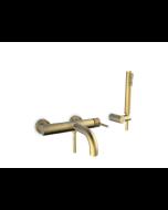 Μπαταρία Λουτρού Κομπλέ Αντικέ Χρυσό Armando Vicario Industrial Brushed Gold 512100-201