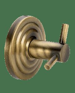 Άγκιστρο Ρετρό Διπλό Μπρονζέ Verdi Brass 3081266