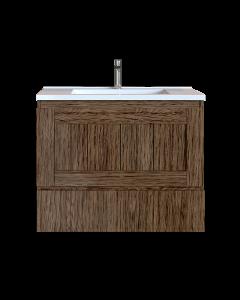 Έπιπλο Μπάνιου 70 εκ. με Νιπτήρα Χρώμα Anziano Natural Sanitec Alba Β 70