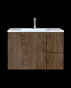 Έπιπλο Μπάνιου 70 εκ. με Νιπτήρα Χρώμα Anziano Natural Sanitec Alba C 70