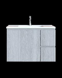 Έπιπλο Μπάνιου 70 εκ. με Νιπτήρα Χρώμα Canyon Greyish Sanitec Alba C 70