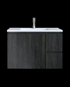 Έπιπλο Μπάνιου 70 εκ. με Νιπτήρα Χρώμα Pine Dark Sanitec Alba C 70