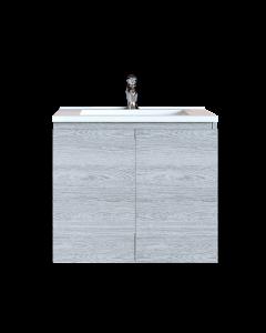 Έπιπλο Μπάνιου 80 εκ. με Νιπτήρα Χρώμα Canyon Greyish Sanitec Alba A 80