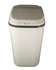 Αυτόματος Κάδος με φωτοκύτταρο 26 lt, M36*B26*Y48 cm Λευκό Πλαστικό Cabin Plastic Dolphin EAD1126CPW