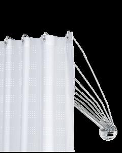 Βραχίονας Μπάνιου Χρωμέ Ομπρέλα 155 εκ. με 12 Ακτίνες Sealskin Umbrella 272226304