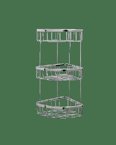 Θήκη Γωνιακή Τριών θέσεων Χρωμέ Verdi R-10 Baskets 5020522