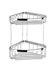 Θήκη Καλάθι Γωνιακό Διπλό Χρωμέ Geesa Basket 183