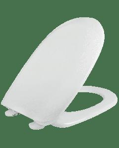 Κάλυμμα Λεκάνης WC Passepartout  Βακελιτικό Λευκό  42,8-44,6 * 36cm Κατάλληλο για Vitruvit,Kerafina, Ideal Standard, Indusa D shape Elvit 0086