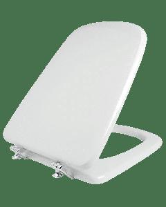 Κάλυμμα Λεκάνης WC Polyester B.T Λευκό 39,5*35,5 εκ. Κατάλληλο για Ideal Standard Emirama  Elvit 0204