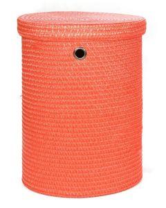 Καλάθι Αποθήκευσης -Απλύτων Μεγάλο με καπάκι Πορτοκαλί 42/40*53 εκ. Sila 4465L