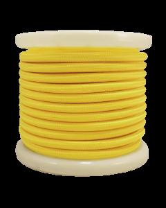 Καλώδιο Κίτρινο Υφασμάτινο 2*0,75 mm Ρολλό 10 Μέτρων Enjoy EL330004