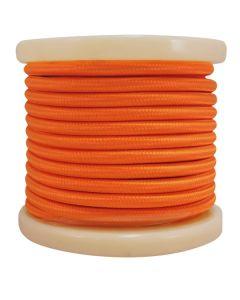 Καλώδιο Πορτοκαλί Υφασμάτινο 2*0,75 mm Ρολλό 10 Μέτρων Enjoy EL330013