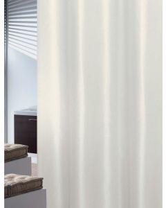 Κουρτίνα Μπάνιου Εκρού 180*200 εκ. Υφασμάτινη Polyester Joy Bath Plain 002-00018