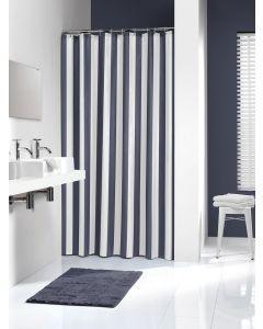 Κουρτίνα Μπάνιου Υφασμάτινη  180*200 εκ.Linje Blue Sealskin 233011324