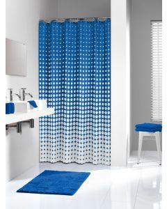 Κουρτίνα Μπάνιου Υφασμάτινη  180*200 εκ.Speckles Roy Blue Sealskin 233601323