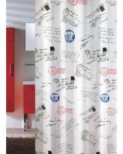 Κουρτίνα Μπάνιου 180*200εκ. Υφασμάτινη Polyester Joy Bath Post 002-00002
