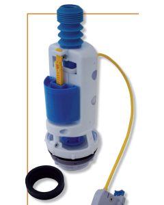 Μηχανισμός Καζανακίου Διπλής Ντίζας Αθόρυβο Haoupmann Universal 40014