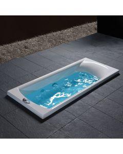 Μπανιέρα Υδρομασάζ Ακρυλικό Carronite 160*70 εκ.Carron Bathrooms Delta 426CH