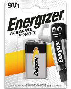Μπαταρία Αλκαλική 9V 6LR61 Energizer Alkaline Power F016619