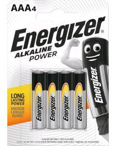 Μπαταρίες Αλκαλικές AAA /Ε92 (mini Μινιόν) Energizer F016612