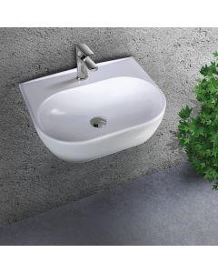 Νιπτήρας Κρεμαστός 45*32 εκ. Λευκή Πορσελάνη Bianco Ceramica Studio 39045