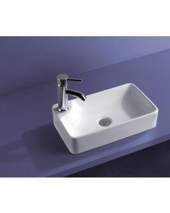 Νιπτήρας Μπάνιου Επιτραπέζιος  43,5*26,4*10 εκ. Ceramita F675