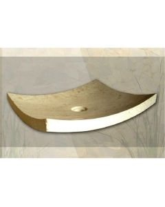 Νιπτήρας Πέτρινος Μπεζ  50*40*12cm Bati Stone Piring Beige