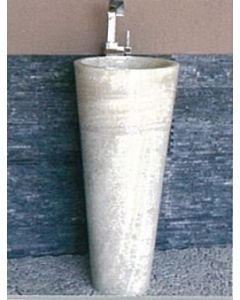 Νιπτήρας Πέτρινος Onyx Raja Bati Stone  Ø40*90cm