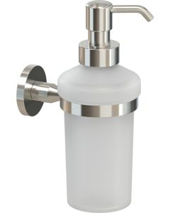 Ντισπένσερ Υγρού Σαπουνιού Νίκελ Ματ -Γυαλί Verdi Omicron Nickel Matt 3020078