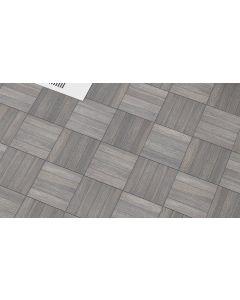Πλακάκι Γρανίτης Ανάγλυφο Δαπέδου Deck-Τοίχου 50*50 εκ.R10 Poolside Grey Matt