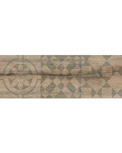 Πλακάκι Δαπέδου τύπου ξύλου Κεραμικό Ματ 17,5*50 εκ.Decor Kivu Roble VC881750DKR
