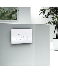 Πλακέτα Χειρισμού Easy Touch Circle Λευκό Wisa F099-300