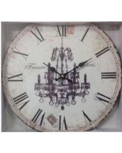Ρολόι Επίτοιχο Ø34cm France Paris Etoile NN16290