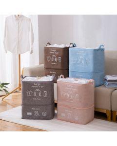 """Σάκος Απλύτων με κορδόνι Επεκτεινόμενος Y30-50*M40*Π33 εκ.Υφασμάτινος Etoile """"Washday"""" Pink MB295"""