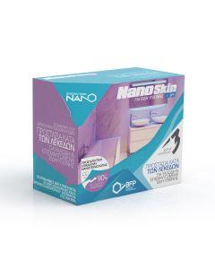 Σετ 3 Προϊόντων Νανοτεχνολογίας για Είδη Υγιεινής,Υαλώδη Πορσελάνη Nanoskin 2602