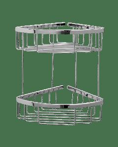 Σπογγοθήκη Γωνιακή Δύο δύο θέσεων Χρωμέ Verdi R-10 Baskets 5020422