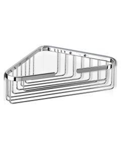 Σπογγοθήκη-Μπουκαλοθήκη Γωνιακή Χρωμέ Geesa Basket 170