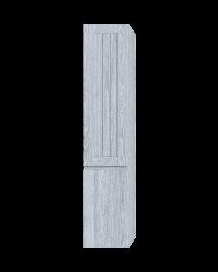 Στήλη Μπάνιου Κρεμαστή Υ175*Π35*Β37 εκ. Χρώμα Canyon Greyish Sanitec Alba B