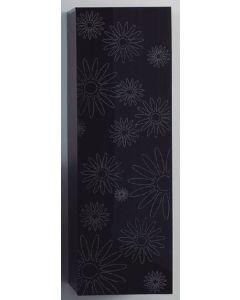 Στήλη Μπάνιου 120 εκ. Μαύρο Λουλούδι ECO EXTRAS FT22.120.002BF
