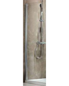 Σταθερό Πλαϊνό 90 εκ. Πόρτας Ντουσιέρας Προφίλ Χρώμιο, 6 χιλ. Κρύσταλλο Clear, Ύψος 185 εκ. Devon Primus Plus Side Panel SPBI90T-100