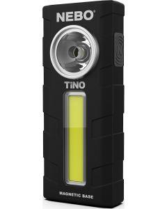 Φακός Εργασίας Μπαταρίας Led 300lm με Κλιπ Τσέπης & Μαγνητική Βάση NEBO Tino Black 6809