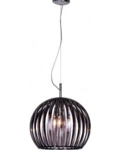 Φωτιστικό  Ø30cm Ακρυλικό Φυμέ με διάφανα κρύσταλλα Homelighting Round  77-2011