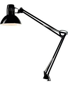 Φωτιστικό Γραφείου / Σχεδιαστηρίου με σφικτήρα Μαύρο Perenz 4025N