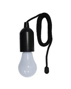 Φωτιστικό Λαμπτήρας 1w Led 3000K 40 Lumen Μαύρο με μπαταρίες 3 τμχ. ΑΑΑ Sigma SI00385