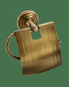 Χαρτοθήκη Ρετρό με κάλυμμα Μπρονζέ Verdi Brass 3081466