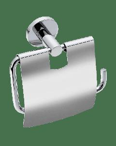 Χαρτοθήκη με κάλυμμα Επίτοιχη Χρωμέ Verdi Sigma Chrome 3031422