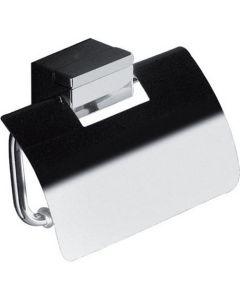 Χαρτοθήκη με κάλυμμα Χρωμέ Επίτοιχη Inda Logic 3300 A3326BCR