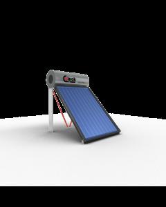 Calpak Mark 4 Ηλιακός Θερμοσίφωνας 125 lt /2,1m2 Glass Επιλεκτικός Διπλής Ενέργειας