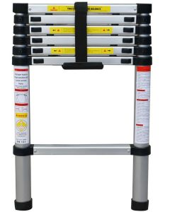 Ladder 200 Tηλεσκοπική Σκάλα αλουμινίου ύψους 2m με 7 σκαλιά JALO