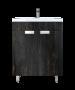 Έπιπλο Μπάνιου 65 εκ.με Νιπτήρα & ποδαράκια Χρώμα Pine Grey Sanitec Lido 65